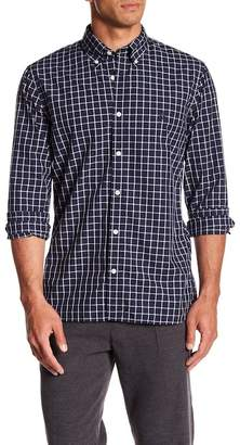 Brooks Brothers Broad Cloth Yarn Dye Check Print Shirt