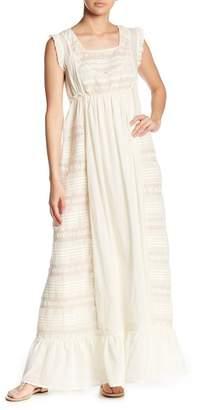 Love Sam Hill Country Ruffle Lace Maxi Dress