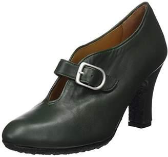 Audley Women's 19956 Closed Toe Heels, Green Verde