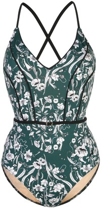 Morgan Lane Poppy floral swimsuit