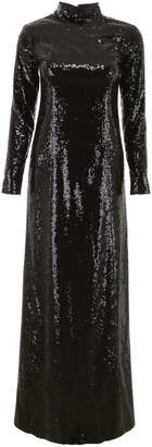 In The Mood For Love Sequins Rezzan Dress