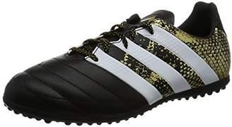 adidas (アディダス) - [アディダス] サッカーシューズ エース 16.3 TF J LE コアブラック/ランニングホワイト/ゴールドメット 17.5 (現行モデル)