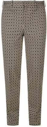 Neil Barrett Houndstooth Tapered Skinny Trousers