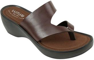 Eastland Leather Wedge Sandals - Laurel