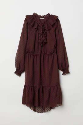 H&M Flounced Dress - Red