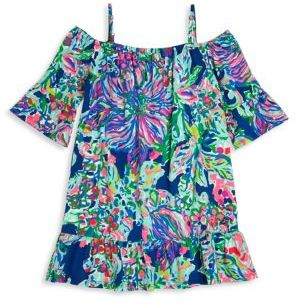 Lilly Pulitzer Kids Toddler's, Little Girl's & Girl's Jaci Dress $58 thestylecure.com