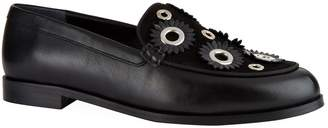 Claudie Pierlot Embellished Loafers