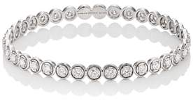 Sara Weinstock Women's White Diamond Bangle-White