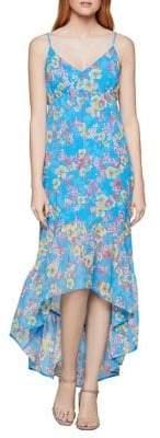 BCBGeneration Island Floral High-Low Dress