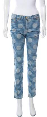 Kenzo Mid-Rise Skinny Jeans