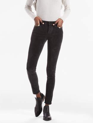 Lucky Brand Black Velvet Brooke Legging JEAN