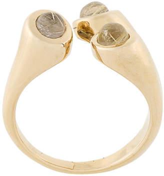 Pamela Love Aorta rutilated quartz ring