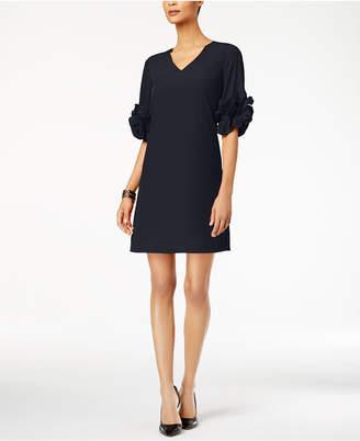 Alfani Ruffle-Sleeve A-Line Dress
