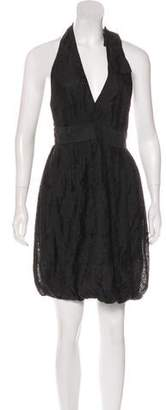 Stella McCartney Jacquard Halter Dress