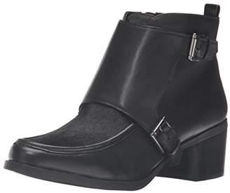 Anne Klein Women's Jeffrey Leather Ankle Bootie