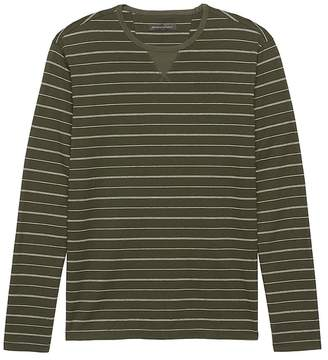 Banana Republic Heritage Cotton-Yak Wool Crew-Neck T-Shirt