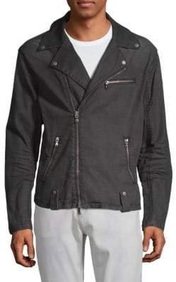 John Varvatos Asymmetric Moto Jacket