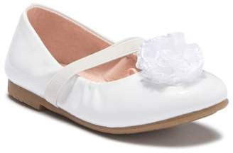 Harper Canyon Lil Anna Flower Ballet Flat (Toddler)