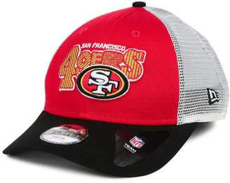 New Era Boys' San Francisco 49ers Trucker Joy 9FORTY Cap