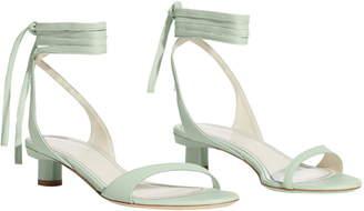 Tibi Scott Ankle Tie Sandal