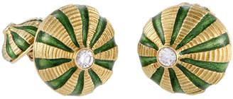Tiffany & Co. Heritage  18K 0.30 Ct. Tw. Diamond Cufflinks