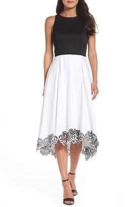Women's Tahari Fit & Flare Dress $158 thestylecure.com