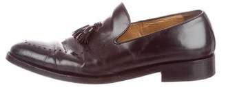 Gucci Tassel Leather Loafers