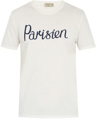 Parisien crew-neck cotton T-shirt