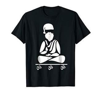 Om Santa Yoga Santa Claus funny Xmas Shirt for Yogis