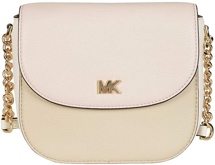 Michael Kors Foldover-top Shoulder Bag - OAT/SFP/LTCR - STYLE