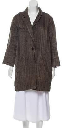 Etoile Isabel Marant Herringbone Linen Coat