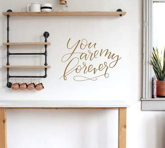 Pottery Barn You Are My Forever Wall Decal