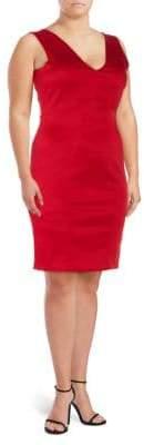 Zac Posen Tie-Back Sheath Dress