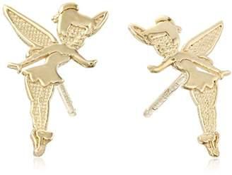 Disney 14k Gold Tinkerbell Stud Earrings