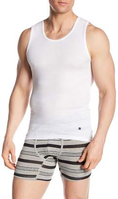Lucky Brand Ribbed Tank Top - Pack of 3 - Size Medium