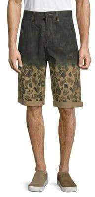 PRPS Catapult Camouflage Cotton Shorts