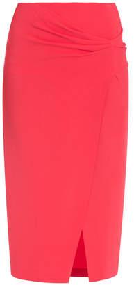 Vionnet Scarlet Twist Midi Skirt