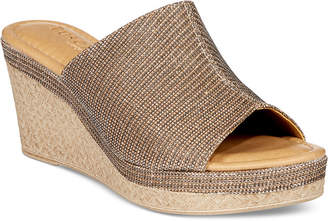 Easy Street Shoes Tuscany by Octavia Wedge Sandals Women's Shoes