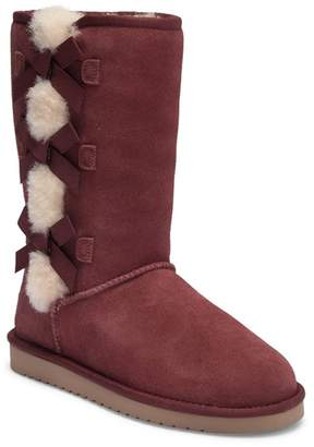 Koolaburra BY UGG Victoria Tall Genuine Dyed Sheepskin Trim & Faux Fur Boot (Women)