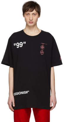 Off-White Off White SSENSE Exclusive Black Boat T-Shirt