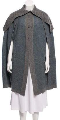 Stella McCartney Knitted Wool Cape