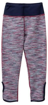 Zella Z by Spacedye High Waist Cutout Crop Leggings (Little Girls & Big Girls)