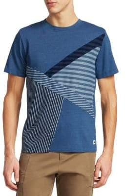 Madison Supply Heathered Striped Tee
