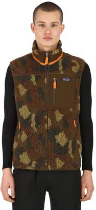 Patagonia Classic Retro-X Camo Fleece Vest