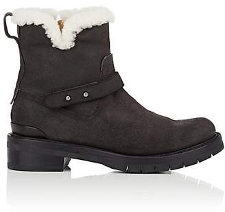 Rag & Bone WOMEN'S SUEDE & SHEARLING ANKLE BOOTS