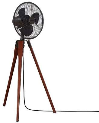west elm Wood Tripod Floor Fan