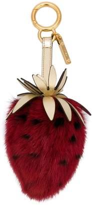 Fendi Strawberry key ring