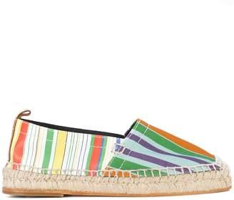 Loewe striped espadrilles