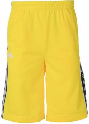 Kappa logo tape track shorts