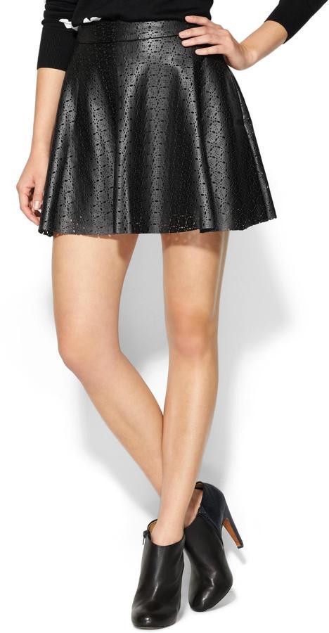 Ella Moss Vegan Leather Deborah Skirt